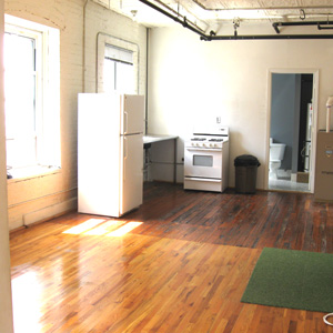 loft  for rent 3B at the hutwelker building in park slope brooklyn
