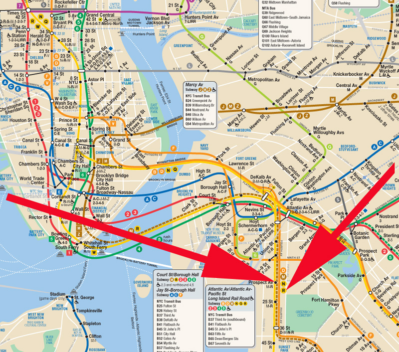 Subway Map Of Park Slope.Loft 4a At The Furniture Store 249 19th Street Park Slope Brooklyn