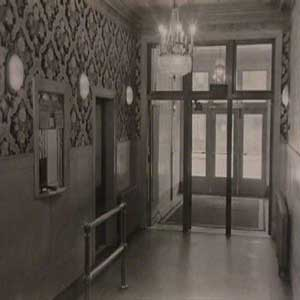 foto of entrance from 1920 ballroom building 318 grand street
